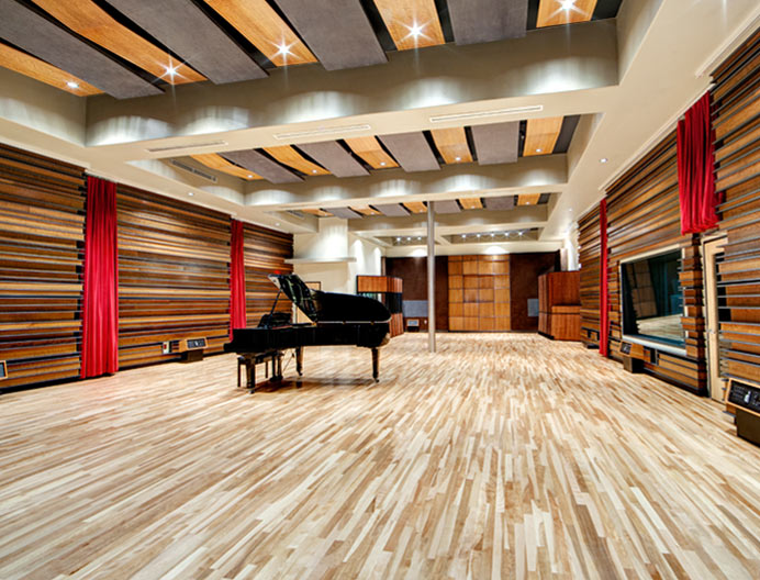 Revolution recording for Recording studio flooring